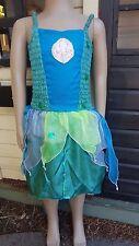 Little Gems Fairy Kisses Girls Green & Blue Mermaid costume Party szS BNWT (4)