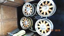 Vintage Piranha Wood Spoke Wheels 15x7 5x5 Bolt Pattern Vintage Van Woodie Tiki