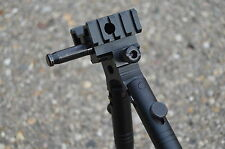 Picatinny Airsoft Bipod With Adaptor For Well MB01/04 L96 style Sniper Rifle