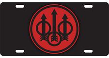 Beretta Firearms Pistol Gun Rifle Logo License Plate Red Car Truck