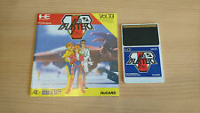 AERO BLASTERS shoot Jeu NEC PC Engine Hucard import JAP