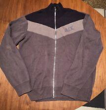 Vintage Armani Exchange Zip-Up Cardigan Sweater