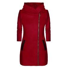 Womens Hoodies Warm Coat Hooded Jacket Winter Zipper Parka Outwear Overcoat