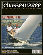 CHASSE MAREE N° 207 : LE FALMOUTH 18 PIEDS - PATROUILLEUR GARDE-PÊCHE - MARIANNE