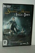 LE AVVENTURE DI SHERLOCK HOLMES USATO PC DVD VERSIONE ITALIANA FR1 52542