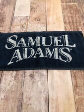 Sam Adams Lager Beer Woven Cloth Bar Room Towel