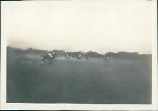 Inde, Match de Polo, ca.1905, vintage silver print Vintage silver print Tirage