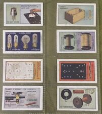 Lot 8 CIGARETTE CARDS GODFREY PHILLIPS 1924 HOW TO MAKE A VALVE AMPLIFIER Tubes