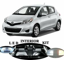 8x White Interior LED Lights Package Kit Fits 2013-2015 Toyota Yaris #A91