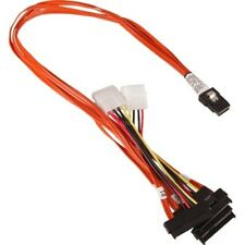 3Ware CBL-SAS8087OCF-06M Multi-lane Int. (SFF8087) SAS/SATA breakout cable 0.6M