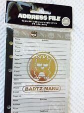 "Badtz Maru Address-Phone Book, Stationery, RARE, 3.75"" x 6.75"", Fits LV MM"