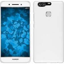 Funda Rígida Huawei P9 - goma blanco Case