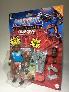 Mattel: Masters of the Universe | Clamp Champ Action Figure (MOTU Origins)