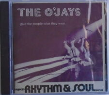 THE O'JAYS - CD - Give The People What They Want - BRAND NEW