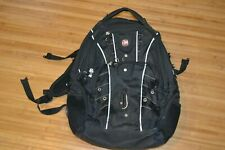 SwissGear SCANSMART Laptop Backpack Luggage Travel Airflow Black Good Condition