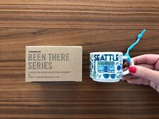 Starbucks Been There Across The Globe Seattle Ornament 2 oz Demi Cup Espresso