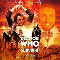 Doctor Who - Survival Original Soundtrack - Dominic Glynn (NEW CD)