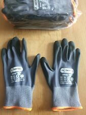 Pack of 10 Pairs Skytec Aria Nitrile Foam Palm Coated Gloves Size 7 Small