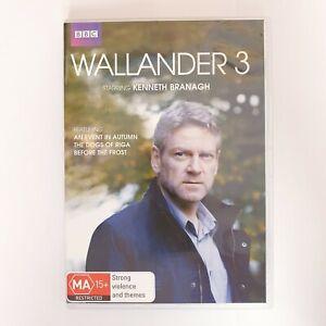 Wallander 3 DVD TV Series Free Post Region 4 AUS - Crime Drama