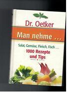 Dr. Oetker - Man nehme...