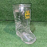 Vintage July 19-24 1983 Mcdonalds N.O.R.O.A / S.O.A. Cowboy Boot Beer Glass Mug