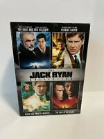 The Jack Ryan Collection - 4 Disc DVD Box Set  (Sean Connery, Harrison Ford)