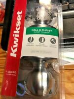 New KWIKSET HALL & CLOSET DOOR   New in Pack