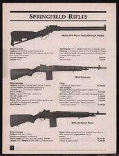 2001 SAKO TRG 42 22/42 & TRG-S Rifle AD gun advertising w/ original prices