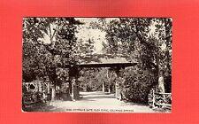 Colorado Springs,CO Colorado, Entrance Gate, Glen Eyrie used 1914