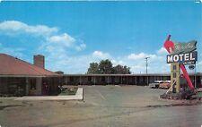 Moses Lake Washington Maples Motel~Hwy 10~Large Neon Sign Postcard 1960s