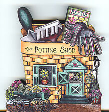 Brandywine Collectibles BASKET VALLEY Houses & Shops THE POTTING SHED Gardening