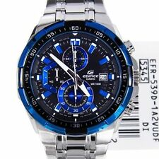 Imported Casio Edifice Men's Luxury watch-EFR539 1A2V BLUE CHRONOGRAPH Watch