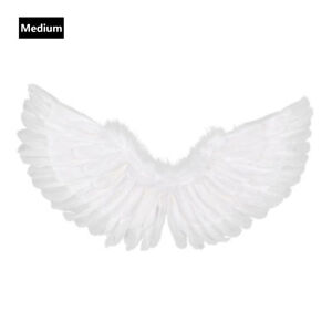 Large Feather Angel Wings Fairy Fancy Dress Stage Costume Christmas Adults Kids