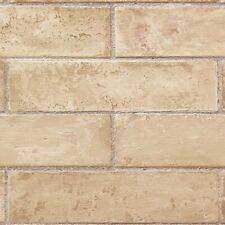 brick wallpaper Te29327 realistic prepasted peelable solid vinyl washable