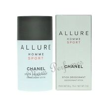 Chanel Allure Homme Sport Deodorant Stick For Men 2oz 75ml * New in Box *