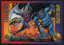 '93 SkyBox X-Men II Art 2 Card Set SIGNED Brandon Peterson Archangel Apocalypse