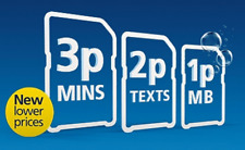 OFFICIAL O2 Classic Pay As You Go Sim Card Triple Cut Standard Micro & Nano