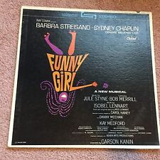Funny Girl - Broadway Musical - LP Record - 1964 - Columbia