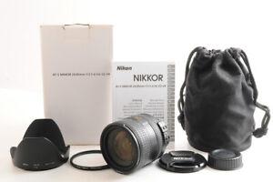 【MINT】NIKON AF-S NIKKOR 24-85mm F/3.5-4.5G ED VR AF Lens +Pro 1D Filter Hood JP