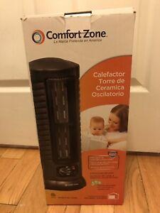 Comfort Zone Oscillating Multi Purpose Heater / Fan Pre-owned