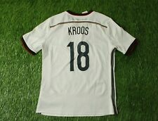 GERMANY TEAM KROOS 2014/2015 FOOTBALL SHIRT JERSEY ADIDAS HOME ORIGINAL YOUNG L
