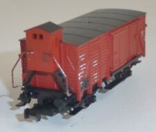 Fleischmann piccolo 8365 DRG gedeckter Güterwagen G10 München OVP Spur N