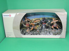 Schleich 41329 Scenery pack coffret Figurine New Heroes 70064,65,66,67,69 figure