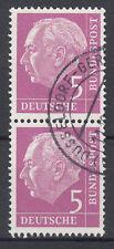 BRD 1954 Mi. Nr. 179 senkrechtes Paar gestempelt (18301)