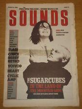 SOUNDS 1988 MAR 12 SUGARCUBES IRON MAIDEN TALKING HEADS