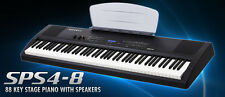 Kurzweil SPS4-8 88 Key Stage Digital Piano Midi Controller with Speakers + Bag