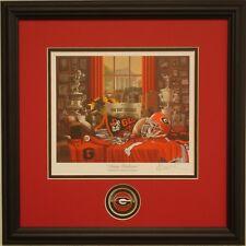 f7af0abdd77 Georgia Bulldogs Football Traditions Framed Print