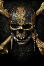 Pirates of the Caribbean Movie Poster (13x19 inches)