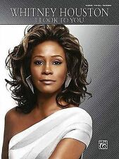 NEW Whitney Houston -- I Look to You: Piano/Vocal/Chords by Whitney Houston
