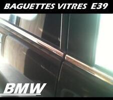 BAGUETTES ACIER INOX. CHROME VITRES INFÉRIEURES BMW E39 Série 5 1997-2003 M M5